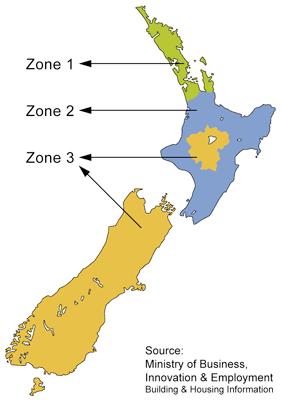 Nz Climate Zones Warmfloor Underfloor Heating